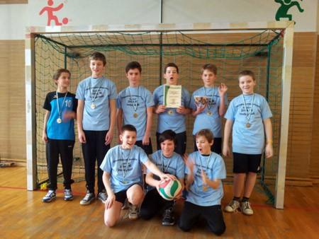 SG UNS Volleyballer U14 Jugend – Ungeschlagener Rheinhessenmeister